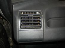 peugeot 205 1.6 /1.9 gti passenger side dash vent in black grey also available